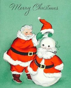 Christmas Card Images, Old Fashioned Christmas, Christmas Past, Vintage Christmas Cards, Retro Christmas, Christmas Greeting Cards, Christmas Colors, Christmas Greetings, Christmas Themes
