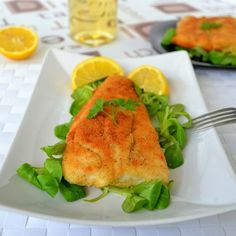 Crispy and easy batter for fish recipe with lemon juice (hake, cod or haddock)