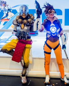 Tracer Cosplay costume Overwatch (29) – Cosplays