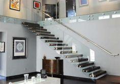 QUÉ BELLEZA!!! Un toque personal a tú estilo y gusto, realza cualquier espacio con este Barandal para escaleras con cristal templado de 12 mm, accesorios en Acero Inoxidable. Te gustaría uno así? Llámanos y te cotizamos 83-496666 D'CASLO www.facebook.com/dcaslo, mail: dcaslo@prodigy.net.mx