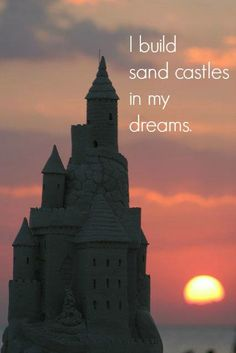 I build sand castles in my dreams. Photo via: http://www.pinterest.com/flislandcoast/fort-myers-beach-florida/