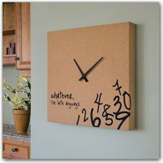 Definitely getting this clock
