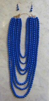 Blue beads!