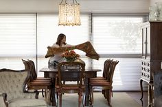 Open house   Anne Colesanti. Veja: http://casadevalentina.com.br/blog/detalhes/open-house--anne-colesanti-3208  #decor #decoracao #interior #design #casa #home #house #idea #ideia #detalhes #details #openhouse #style #estilo #casadevalentina #diningroom #saladejantar