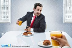 get the news with your breakfast
