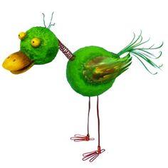 #Ente als #Gartendekoration selber basteln: Du brauchst dafür nur Styroporkugeln, Draht und Farbe. Hier erhälst Du die komplette Bastelanleitung: www.trendmarkt24.de/bastelideen.gartenideen-zum-selber-machen.html#p