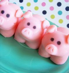 Strawberry Pig Soap. Aren't these adorable! $5.00