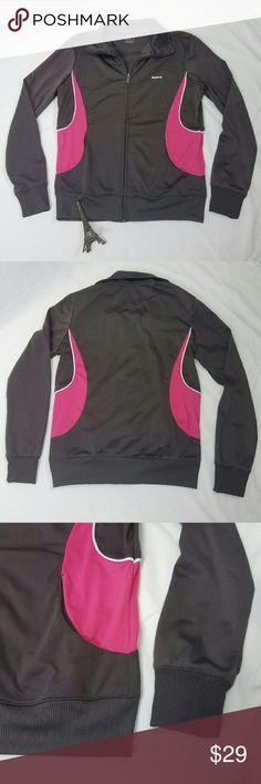 c6c754466152 Reebok Vintage Track Suit Jacket Size  Medium Color  Gray Condition Description   Gently