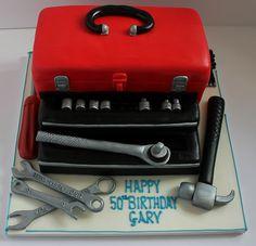 Toolbox birthday cake! by Pauls Creative Cakes, via Flickr