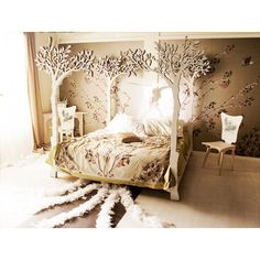 Under the apple tree canopy bed  Modern romantic by lummedesigns, €9329.00