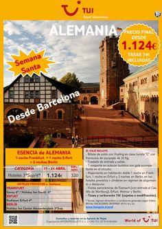 ¡Semana Santa en Alemania! Confirmación inmediata salida desde Barcelona. Precio final desde 1.124€ ultimo minuto - http://zocotours.com/semana-santa-en-alemania-confirmacion-inmediata-salida-desde-barcelona-precio-final-desde-1-124e-ultimo-minuto/