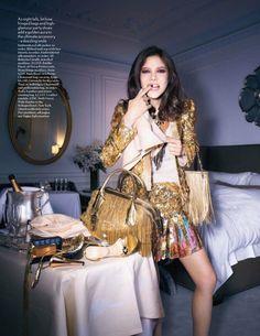 wanderworldwonderlust:   Vogue UK February 2012 Editorial - Tati Cotliar