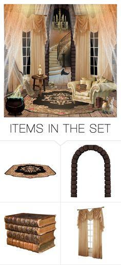 """Hufflepuff Common Room ~2"" by harrypottersets ❤ liked on Polyvore featuring art"