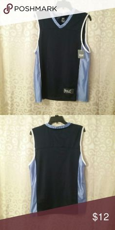 NWT Two-tone Blue Basketball Shirt Men's Small Final Price, but you can bundle to save 15%. Everlast Shirts Tank Tops