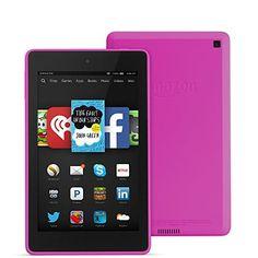 "Fire HD 6, 6"" HD Display, Wi-Fi, 16 GB - Includes Special Offers, Magenta by Amazon, http://www.amazon.com/dp/B00LCJ06TI/ref=cm_sw_r_pi_dp_grshub1C7A387"