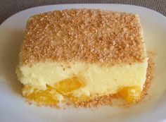 Sweet of pineapple and cream - Food From Portugal