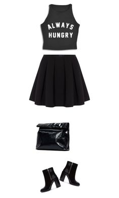 """""""always hungry"""" by ecem1 ❤ liked on Polyvore featuring Polo Ralph Lauren, Forever 21 and Marie Turnor"""
