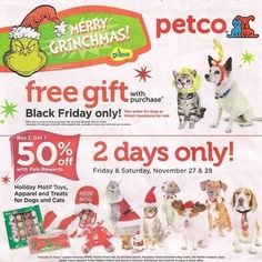 View the Petco Black Friday 2015 Ad with Petco deals and sales