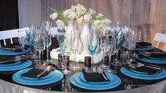 Marc Wilson Design for Manhattan Magazine Table Setting (DIFFA Dining by Design 2011)