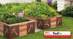 Raised Garden Beds - Easy assembly with no tools required