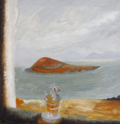 'Flodigarry Island, Skye' by Winifred Nicholson, 1949 (oil on canvas) Winifred Nicholson, William Nicholson, Landscape Art, Landscape Paintings, Landscapes, Dh Lawrence, Art Through The Ages, Art Uk, French Artists