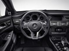 2014 Mercedes Benz CLS63 AMG S Model Coupe Dashboard Panel View Concept