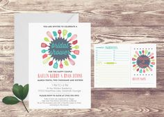 Printed Bridal Shower Recipe Card Invitation, Recipe Book, Custom Personalized, Recipe Cards for Bridal Shower, Bridal Shower Invitation