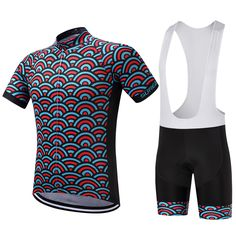 SUREA Brand new set shirt summer 2017 cycling suit cycling MTB Bike Bicycle  clothes clothing uniform with the cycling Bib-in Cycling Sets from Sports  ... 7ae028b20
