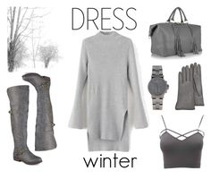 """dress winter"" by glenda-garbutt ❤ liked on Polyvore featuring Eddie Harrop, Journee Collection, Forzieri, Michael Kors, Charlotte Russe and plus size clothing"
