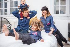 Crazy Family <3  Total Look pour la Family G. Tous en chemises en jeans by Le Bazar des poupées Russes  On ADORE 💙