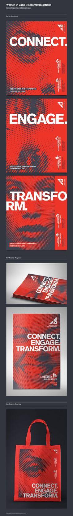 Conference Branding. Design: Greg Spraker / ©Fuszion