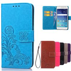 Luxury For Coque Samsung Galaxy Grand Prime Case G530 G530H G531 G531H G531F SM-G531F Wallet Flip Cover With Card Slots Holder * Click the image to find out more