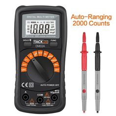 Tacklife DM02A Classic Digital Multimeter Auto Ranging Non Contact Voltage... #TACKLIFE