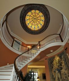 Spiral Staircase Princeton Hills Brentwood, TN Bernie Bloemer Custom Homes Spiral Staircase, Home Builders, Custom Homes, Nashville, Home Decor, Spiral Stair, Decoration Home, Room Decor, Home Buying