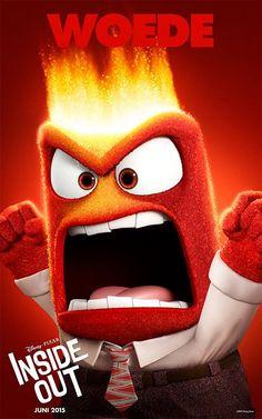 Woede | De emoties van Inside Out | Juni 2015