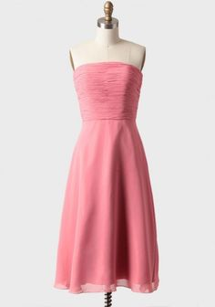 Calla Lily Dress In Strawberry Pink something like this but neutral
