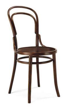 Michael Thonet designed Bistro Chair No. 14