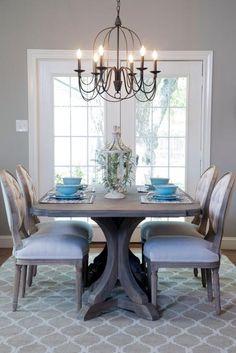 kerrisdale design - dining rooms - 6 light marigot chandelier