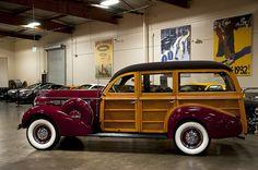 1938 Buick Century Station Wagon