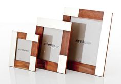 JUNIN PHOTOFRAME · wood and alpaca metal · AIREDELSUR by Marcelo Lucini