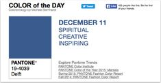 APPart – Mobile Art – Pantone Color of the Day – 'Delft' – TheAppWhisperer