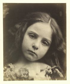 Unknown Girl by Julia Margaret Cameron, England, 1865-66. l Victoria and Albert Museum