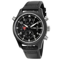 IWC Pilots Double Chronograph Edition Automatic Mens Watch IW379901