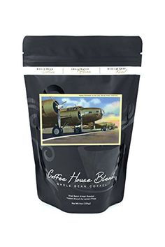 March Field California  Rows of Flying Fortresses on the Line 8oz Whole Bean Small Batch Artisan Coffee  Bold  Strong Medium Dark Roast w Artwork -- Check this awesome product by going to the link at the image. (This is an affiliate link and I receive a commission for the sales)