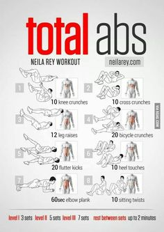 So far the most effective abs workout