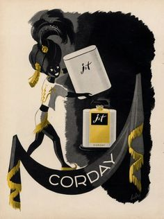 Vintage Perfume Ads | The Non-Blonde