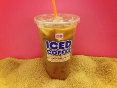 Make it a sweet day with a Dunkin' Brown Sugar Cinnamon Iced Coffee!