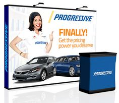 Lightweight and economical, the Perfect-Pop Trade Show Display can be easily interchanged for years…