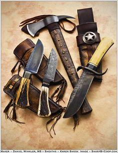 Home - Blade Magazine Cool Knives, Knives And Tools, Knives And Swords, Survival Weapons, Survival Knife, Bushcraft, Tomahawk Axe, Knife Sheath, Custom Knives