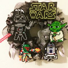 A personal favorite from my Etsy shop https://www.etsy.com/listing/273814572/star-wars-wreath-star-wars-deco-mesh
